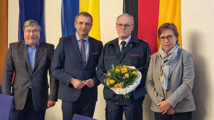 Stadtamtsinspektor Waldemar Gamenik legt das Amt als Leiter der Feuerwehr Bad Driburg nieder