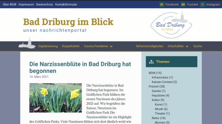 Wie wir die Farben von Bad Driburg im Blick auswählten.
